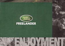 Land Rover Freelander 3-dr 'Enjoyment' 1997-98 UK Market Picture Brochure