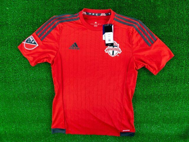 Toronto FC Michael Bradley  4 Adidas MLS Red Soccer Jersey Size Small Mens. 33a931fb5