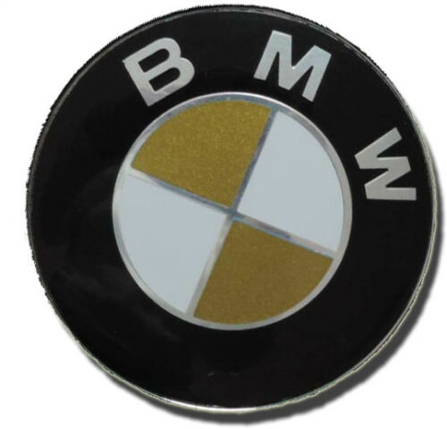Gold emblème coins autocollant BMW e30 e36 e38 e39 e46 e60 e87 e90 f20 f30 f80