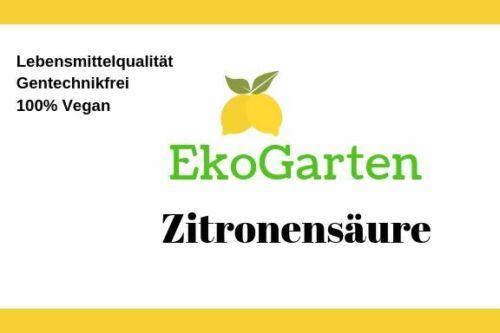 4,5 kg Eimer Zitronensäure Lebensmittelqualität E330 Entkalker Bio