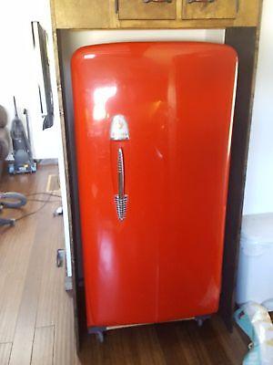 Vintage Gibson Refrigerator Red Ebay
