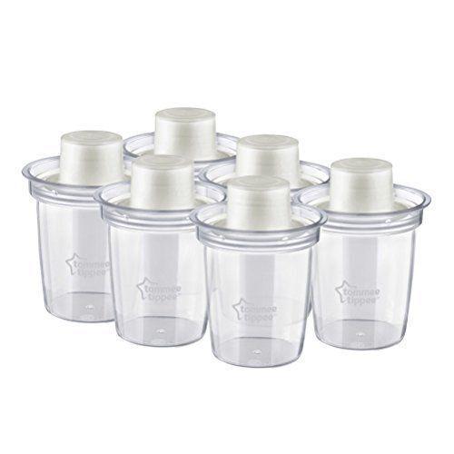 Tommee Tippee cerca de naturaleza dispensadores de polvo de almacenamiento de información de leche 6-Pack