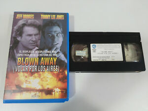 BLOWN-AWAY-TOMMY-LEE-JONES-FEFF-BRIDGES-VHS-TAPE-COLLECTOR-SPANISH