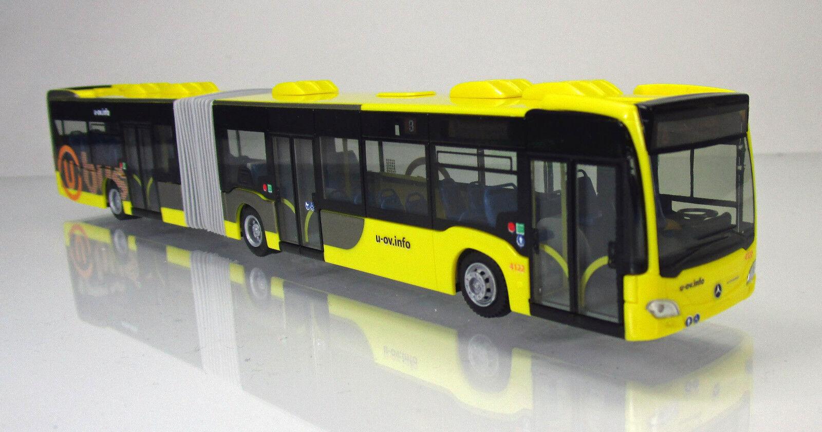 Rietze 69553 Mercedes Benz Citaro G'12 U-Bus Pays-Bas Scale 1 87 Nouveau neuf dans sa boîte