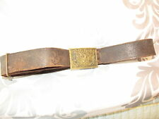 RARER INDIAN WARS/SPANISH AMERICAN BELT ,BUCKLE, ADJUSTABLE KEEPER