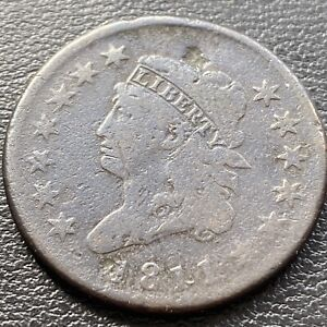 1811 Large Cent Classic Head One Cent 1c Better Grade RARE   #28972