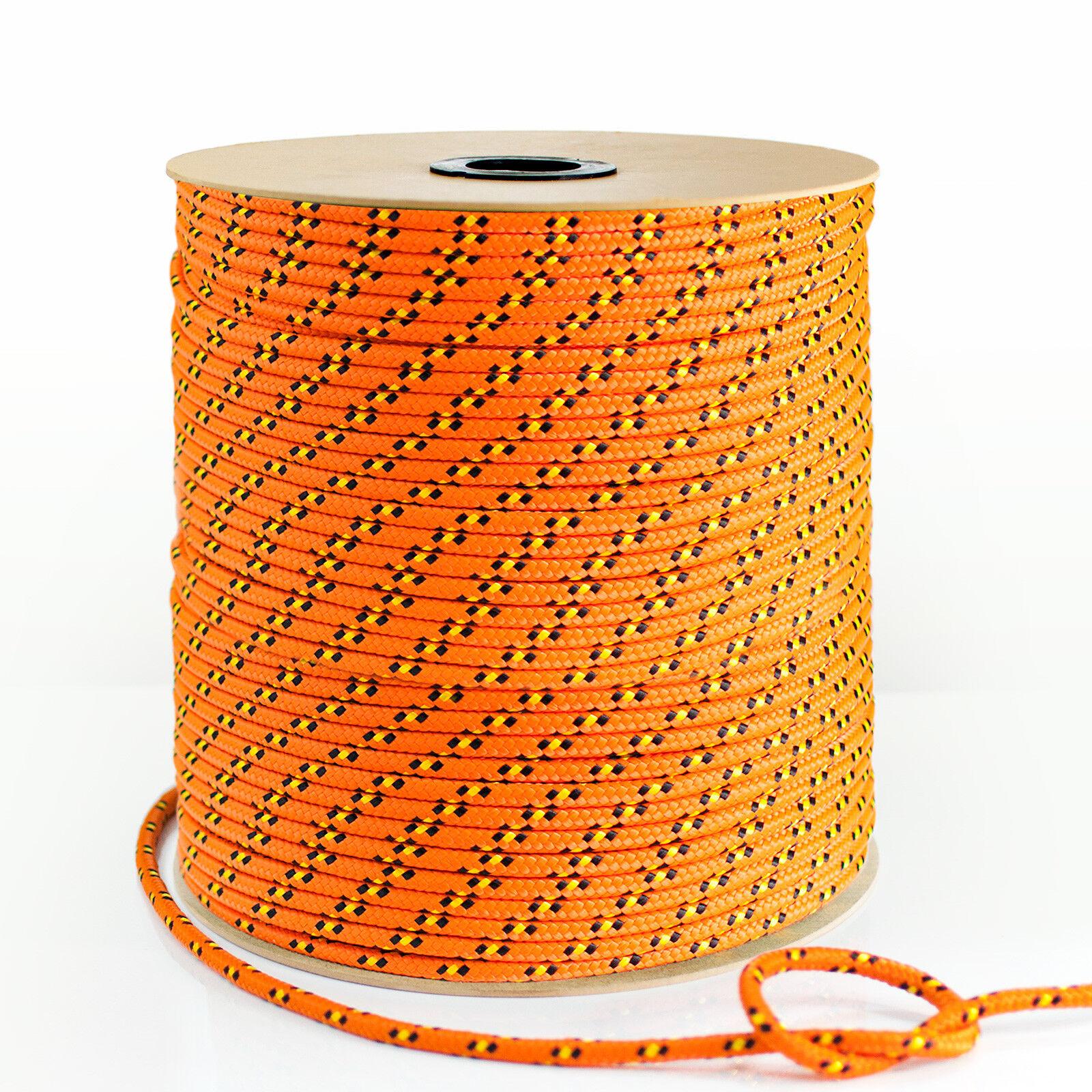 Polypropylenseil Orange PP Polypropylen Seil Festmacher Tauwerk Flechtleine Tauwerk Festmacher 2427ba