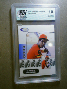 BARRY-BONDS-2006-Showcase-Prospects-Graded-Card-RC-GEM-MINT-10-SF-GIANTS