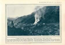 1915 Alps Village Church Ablaze Townshend