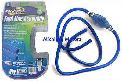 "3//8/"" Fuel Line Marpac Universal Blue Fuel Line Assembly 7-6709"