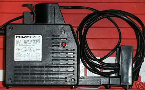 Hilti CU 10 Ladegerät für Hilti Te 10 A TE10A Garantie