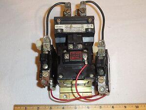 allen bradley 702 coa92 motor starter contactor 45a 2 4p. Black Bedroom Furniture Sets. Home Design Ideas