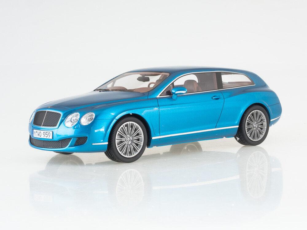 Escala modelo 1 18 Bentley Continental Volar Star por turismo, metálico  blu
