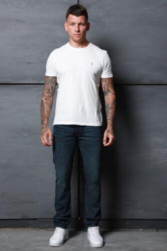 Mens Simply Jeans Slim Fit Vintage Straight Premium Fashion Designer Denim Jeans
