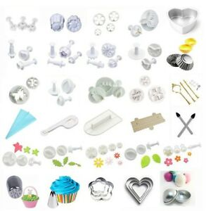 0-99-Sale-Fondant-Cake-Decorating-Icing-Plunger-Cutter-Mould-Sugarcraft-Tools