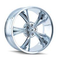 Cpp Ridler 695 Wheels, 18x8 Fr + 20x10 Rr, Fits: Camaro Chevelle Impala Nova