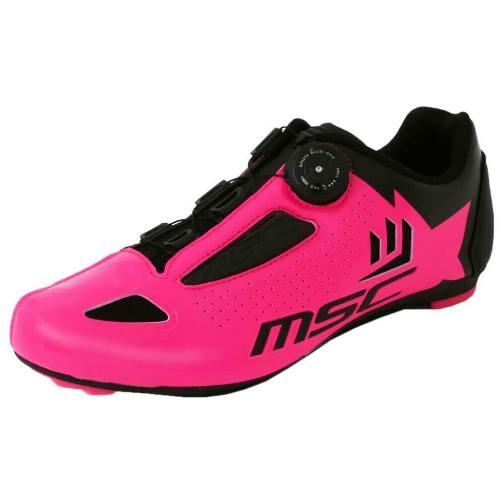 Msc Aero roze T72005 Cycloop schoenen Unisex roze, Cycling schoenen Msc, bike