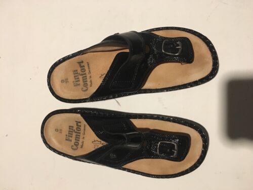 Finn Comfort Thong T Strap Sandals Slide Women 38