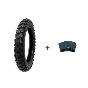Dirt Bike TIRE Size 90/100-14 + Inner Tube Size 90/100-14 TR4 Valve Stem
