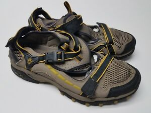 63d6c278b0c6 Details about TEVA 6769 STEALTH HYBRID BLACK YELLOW HIKING SPORT WATER  SANDALS SHOE SIZE 9
