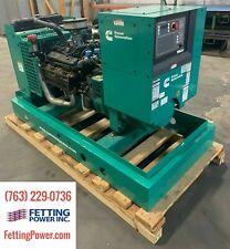 New 235kw Cummins Lpv Stationary Generator Ggpa 120240v 1ph Sn C120313984