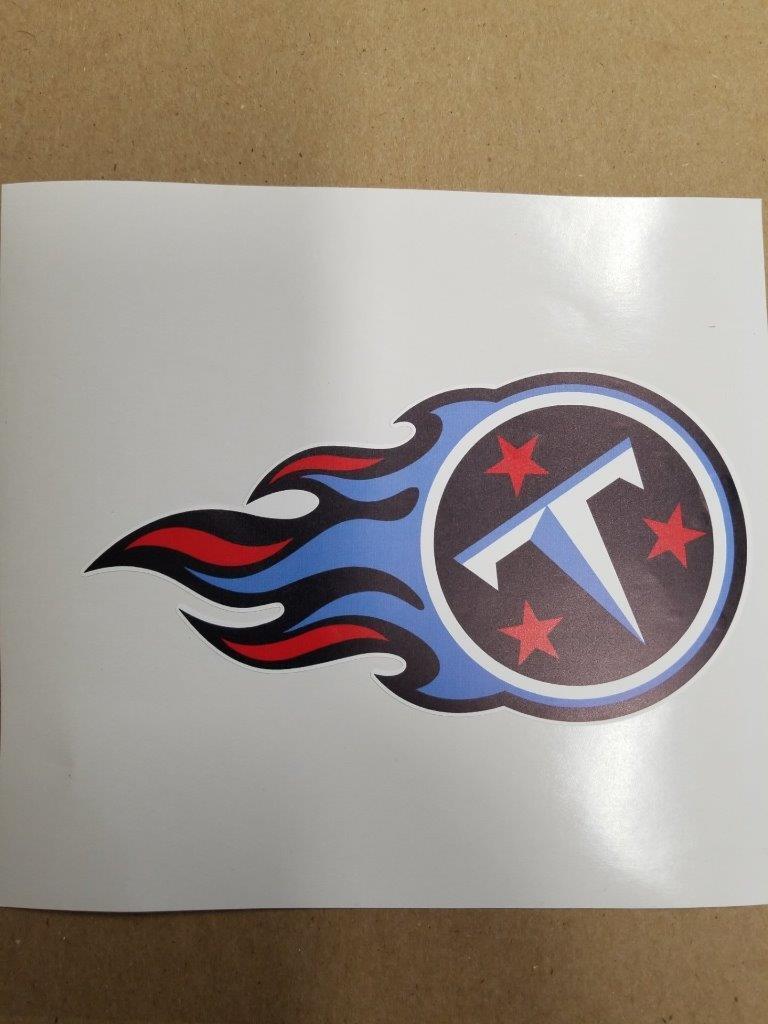 Tennessee Titans  cornhole board or vehicle decal(s)TT2  enjoy saving 30-50% off