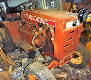 Details about Wheelhorse Tractor Model # B-80, 1977