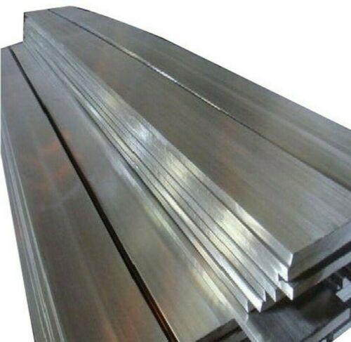 S275-JR 38mm x 3mm Mild Steel Flat bar Length; 940mm Bright finish Billet