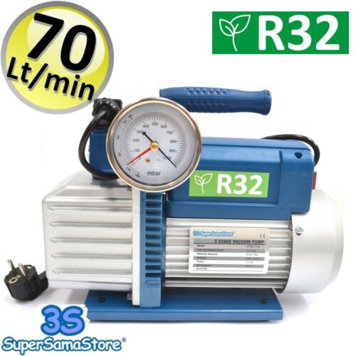 3S VACUUM PUMP 2.5 CFM DOUBLE STAGE AIR CONDITIONING SPECIFIC FOR R32 R1324YF