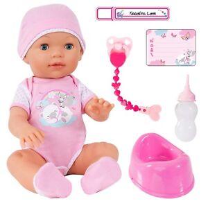 Bayer Design 94209aa Piccolina Love, poupée interactive avec accessoires et ma ...