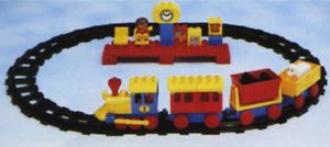 LEGO 2701 - Duplo, Train  DUPLO Express Train Set - 1988 - NO BOX