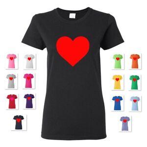 NEW-WOMEN-039-S-HEART-LOVE-VALENTINE-039-S-GIFT-TEE-T-SHIRT