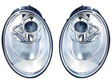 2006 - 2010 VW NEW BEETLE HEAD LAMP LIGHT HALOGEN LEFT AND RIGHT PAIR SET