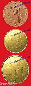 Euros Andorra Andorre 5 10 Y 20 Cents Set 3 Monedas 2014 Sc / 3 Coins Unc Dsh0npfw-07232044-175195003