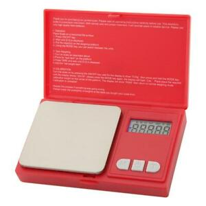 LCD Portable Palm Jewelry Pocket Scale Digital Electric Weight Diamond Coin R1BO