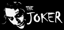 THE JOKER FUNNY car van window sticker JDM DRIFT VW FORD STANCE BMW Z34 DECALS
