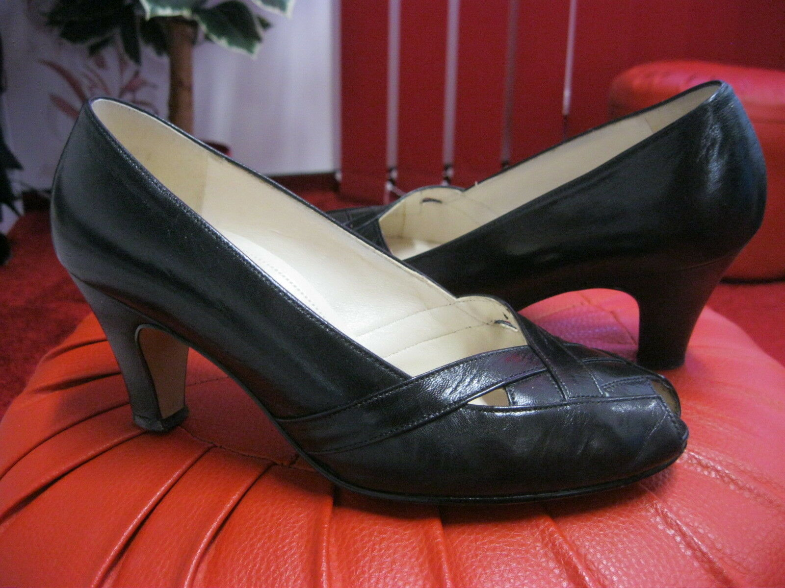 SALAMANDER Echt Leder Damen Schuhe.Schwarz.Gr. 5F/ 38 .NEUw.