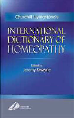 1 of 1 - International Dictionary of Homeopathy, 1e, Very Good Condition Book, Jeremy Swa
