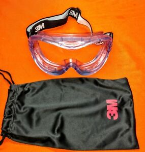 97d7634bcc4 Image is loading 3M-FAHRENHEIT-71360-00001-VENTILATED-SAFETY-GOGGLES-CLEAR-