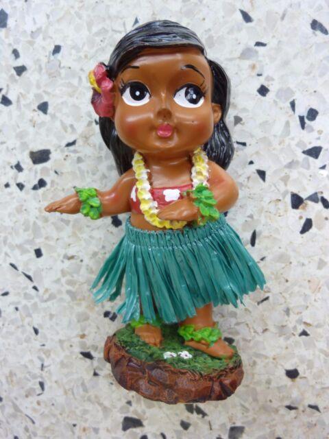 Dashboard Doll Hula Girl Tiki 50s Rockabilly Hawaii Kustom Kulture Wobble Dance