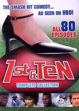 First 1ST & TEN: Complete Collection (Seasons 1 2 3 4 5 6) DVD New Sealed!