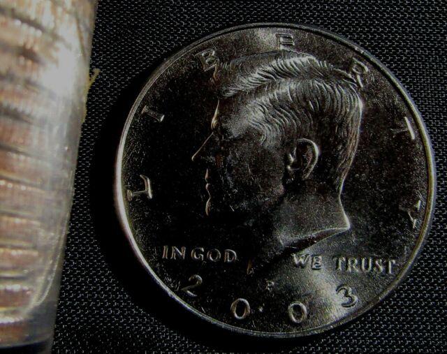 2018 P Kennedy BU Half Dollar From Mint Roll
