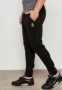 8e2eddc152 Reebok Classics French Terry Sweatpants Mens Black Solid Active Wear ...