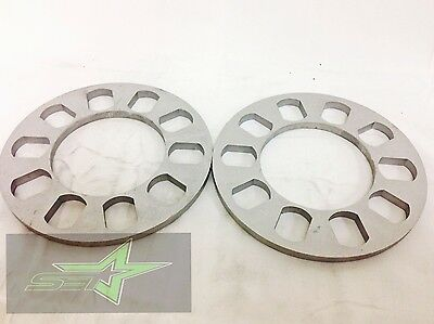 2X WHEEL SPACERS 8MM OR 5/16 | FITS ALL 5X4.5 | 5X4.75 | 5X4.25 | 5X112 | 5X100