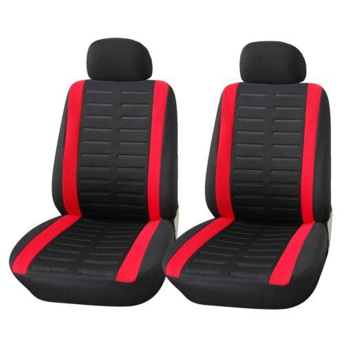 Auto-Sitzbezüge Universal Set Schonbezüge Schwarz Sitzauflagen Sitzbezug