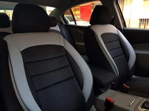Sitzbezüge Schonbezüge für Suzuki Swift schwarz-grau V1101687 Vordersitze