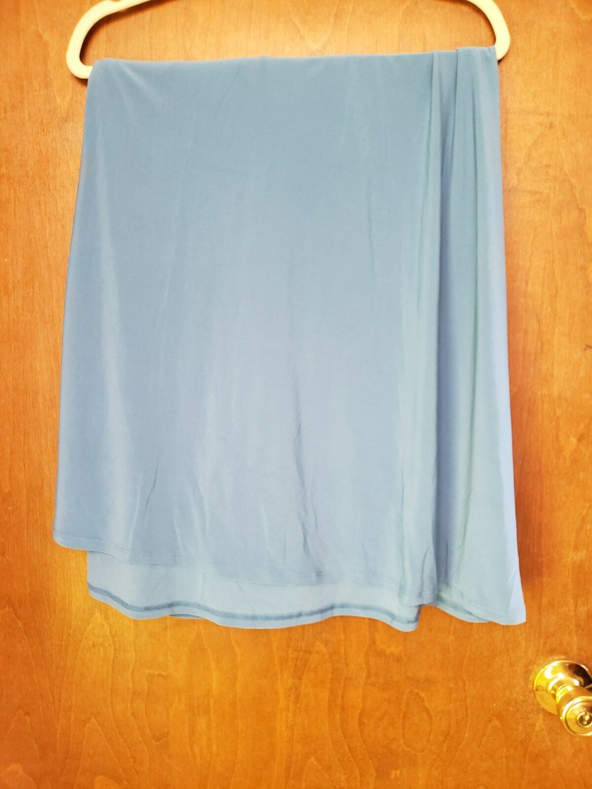 NEW - LuLaRoe Maxi Skirt - 2XL, Solid Light bluee -