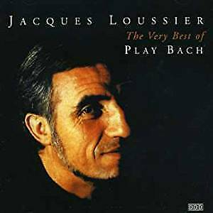 Jaques-Loussier-Best-Of-Play-Bach-Vol-1-NEW-CD