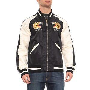 594bc09540d New Men`s Schott NYC Nylon Flight Jacket Style 9725 MSRP 200