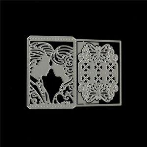Details About Wedding Invitation Card Metal Cutting Dies Stencil For Diy Scrapbooking Album Jb
